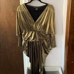Gold Sparkling party dress